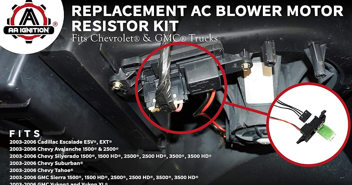 2005 Chevy Silverado Blower Motor Wiring Diagram