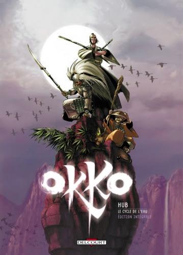Couverture Okko, intégrale, tome 1 : Le cycle de l'eau