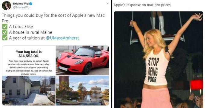 Apple Releases Its $50,000 Mac Pro, The Internet Reacts