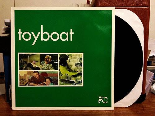 Toyboat - S/T LP by Tim PopKid