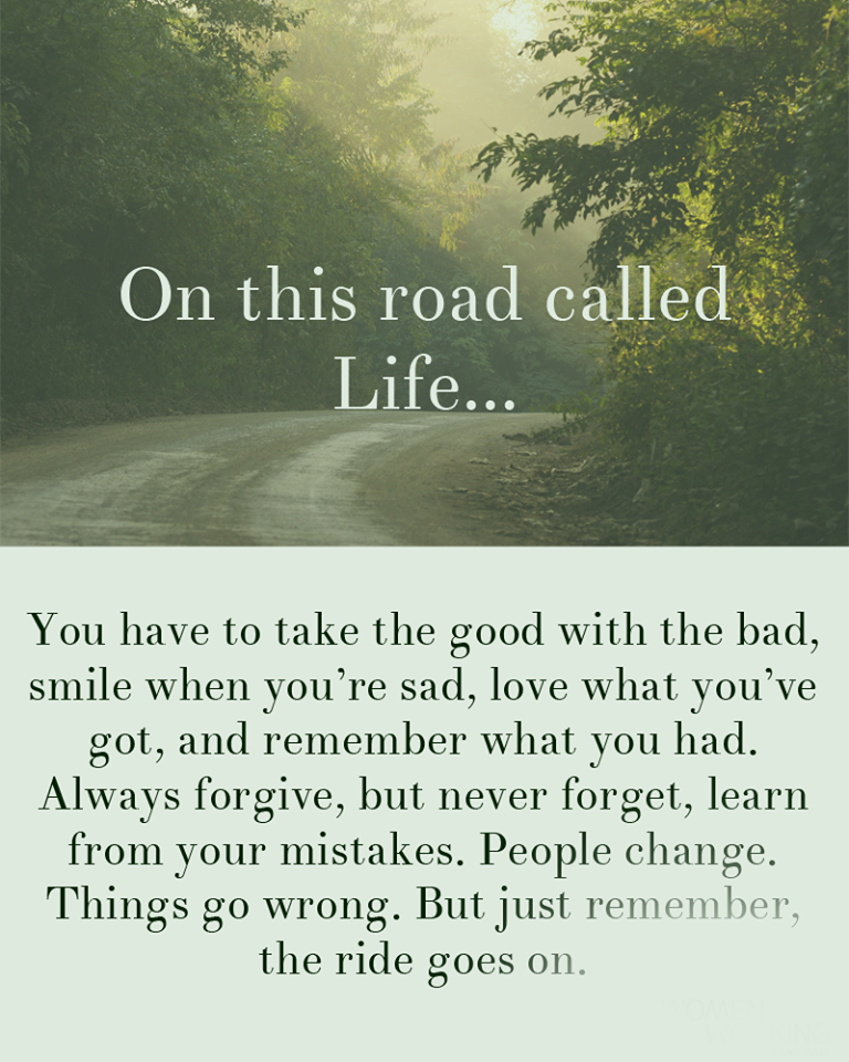 On This Road Called Life Quotes Area