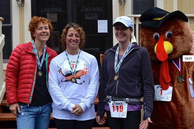 11-17-2013 Ridge Runners Turkey Trot Award Photo
