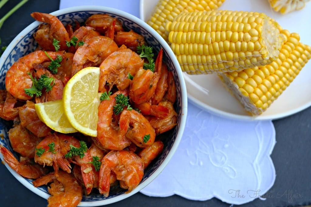 BBQ Shrimp New Orleans Style from What to Eat this Weekend Roundup on Anyonita Nibbles