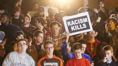 Ferguson October Protesters Face Police