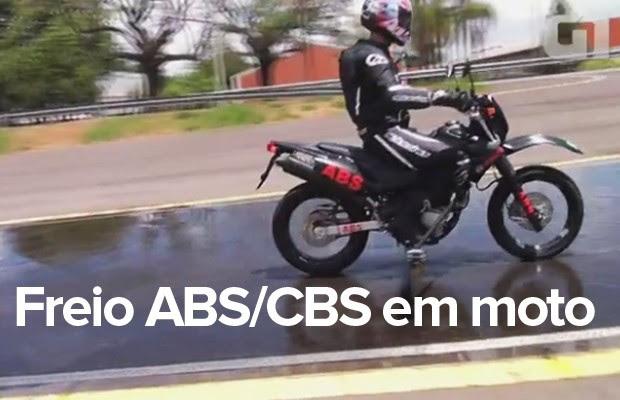 10% das motos novas deverão ter freios ABS ou CBS a partir de 2016 (Foto: G1)