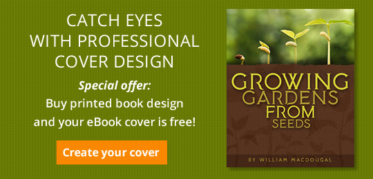 Catch eyes with professional cover design