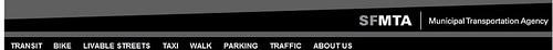 SF Municipal Transportation Agency website