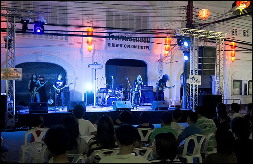 Rock Music in Phuket Town