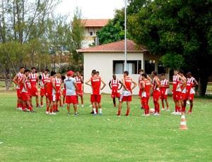 Potiguar de Mossoró - treino (Foto: Marcelo Diaz/Divulgação)
