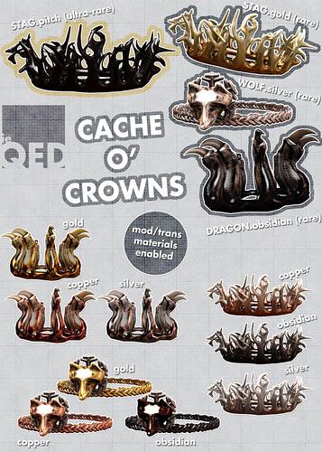 ieQED Cache o' Crowns Gacha - Available February 1st