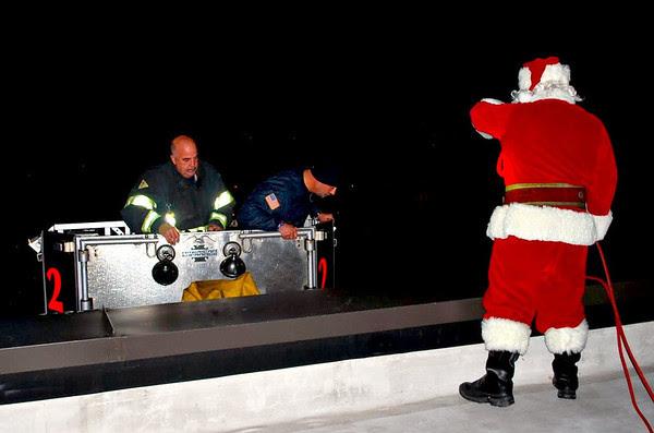 Santa's Ride Arrives