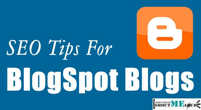 SEO of BlogSpot Blogs