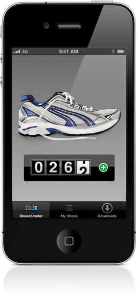 Shoedometer on iPhone