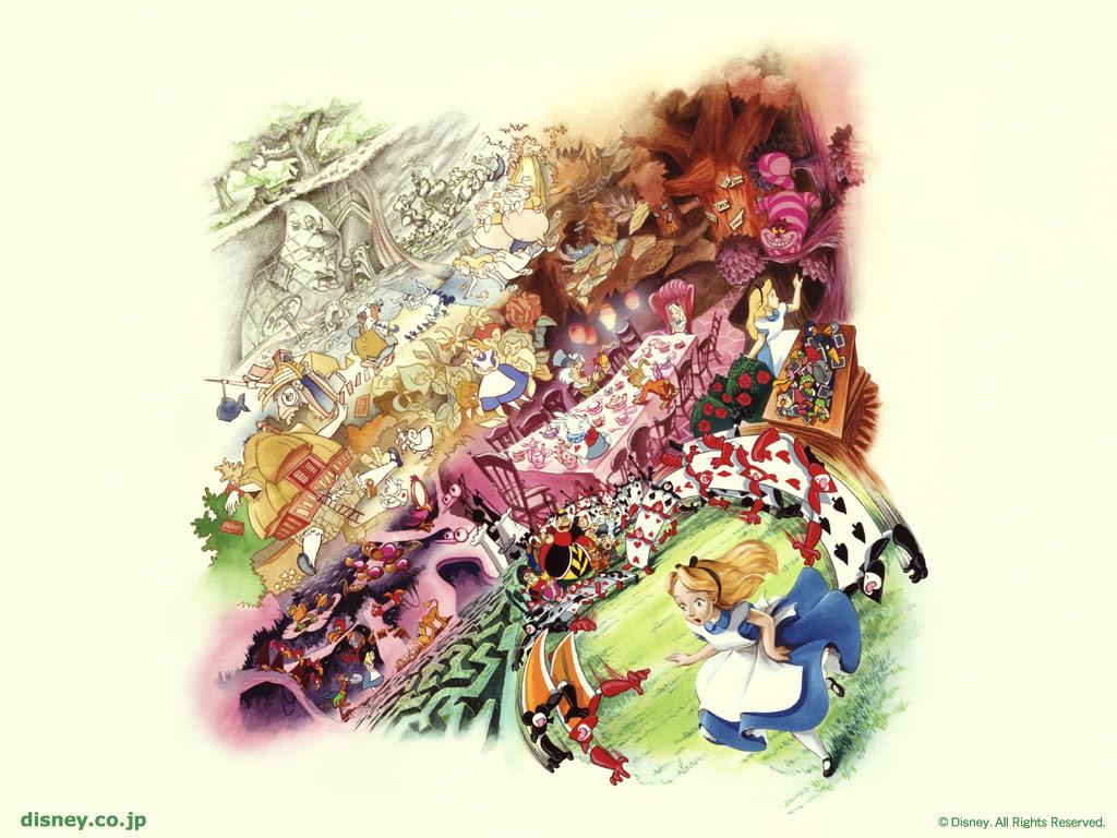Alice In Wonderland 壁紙 不思議の国のアリス 壁紙 6228841
