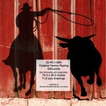 Cowboy Herder Roping Silhouette Yard Art Woodworking Pattern - fee plans from WoodworkersWorkshop® Online Store - cowboys,rodeo,steer tripping,leaning,restings,fences,ranchers,cowhands,cattleman,yard art,painting wood crafts,drawings,plywood,plywoodworking plans,woodworkers projects,workshop blueprints