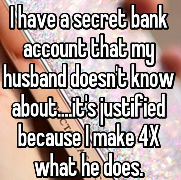 how to find a secret bank account