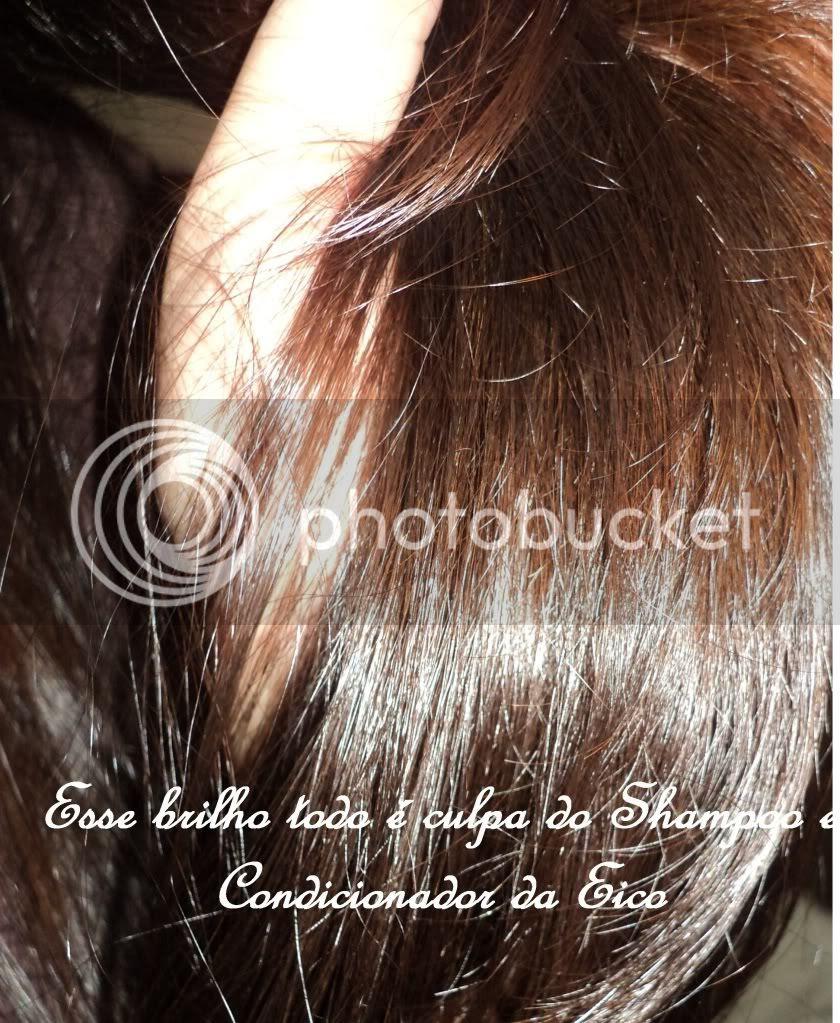 Brilho no cabelo