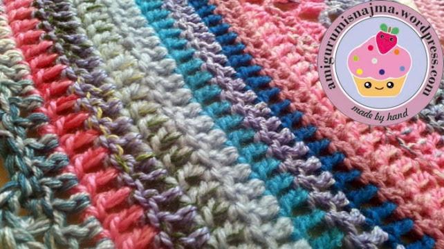 chal ganchillo crochet cyclone shawl