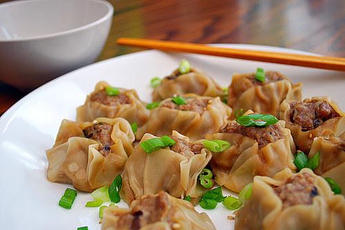 Pork, Ginger & Mushroom Shumai Dumplings