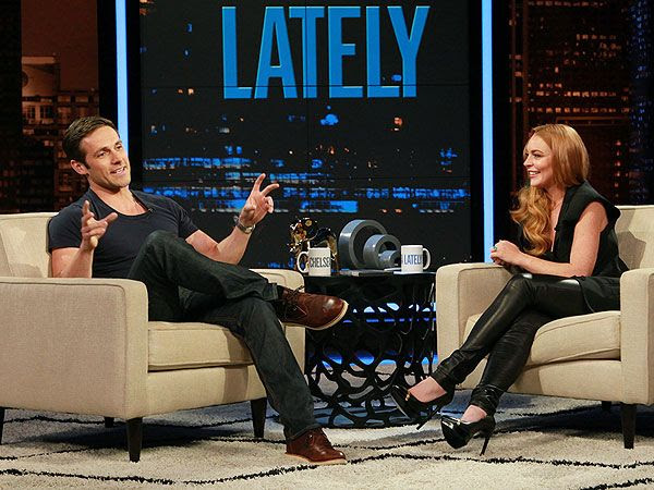 Lindsay Lohan : Chelsea Lately (Aug.2013) photo lindsay-lohan-2-600.jpg
