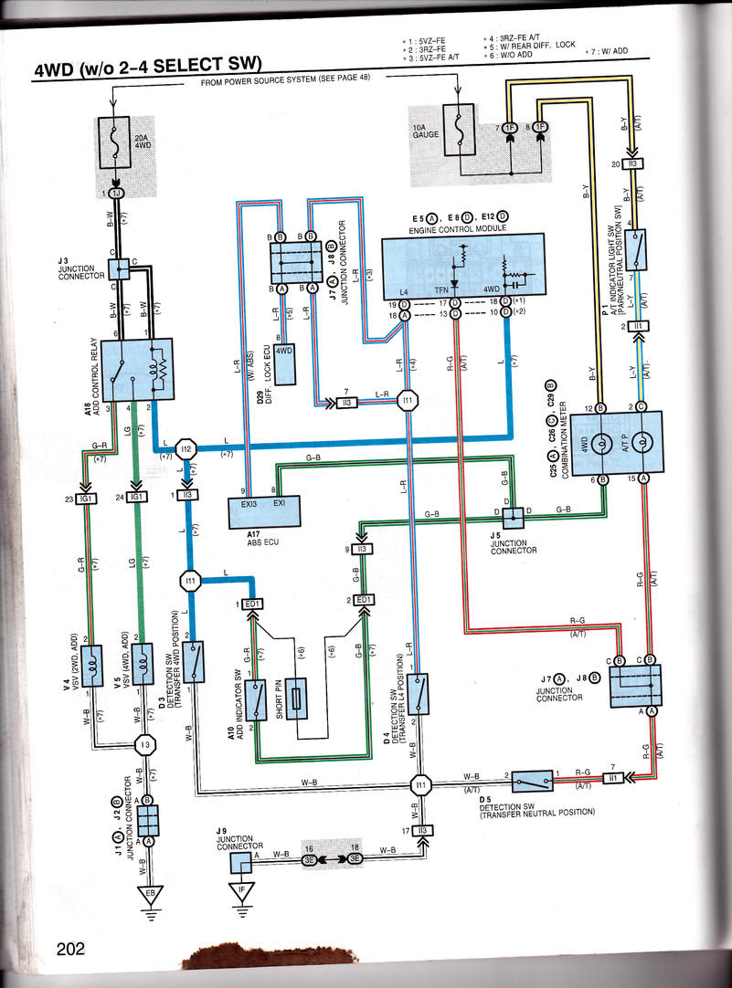 Toyota 4runner Fuel Pump Wiring Diagram Box Wiring Diagram