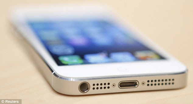 Controversial: Despite the excitement surrounding the new iPhone5, many users will be left frustrated as it includes a controversial new 'docking connector' which will render thousands of Apple accessories obsolete