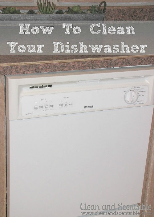How to Clean your Dishwasher.