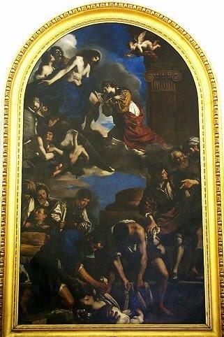 Le Guerchin - Funérailles et apothéose de Sainte Pétronille