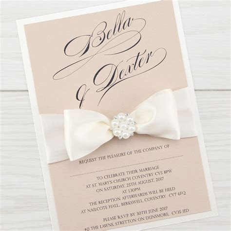 Serena Parcel Wedding Invitation   Pure Invitation Wedding