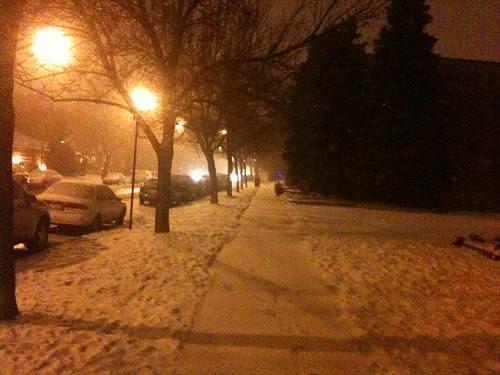 Chicago snow