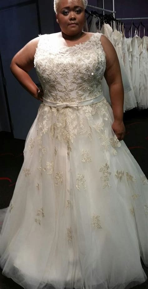 Plus size gold wedding dresses   PlusLook.eu Collection