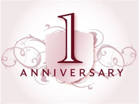 We are looking forward to celebrating our first year