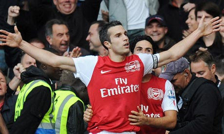 Robin van Persie, Chelsea v Arsenal