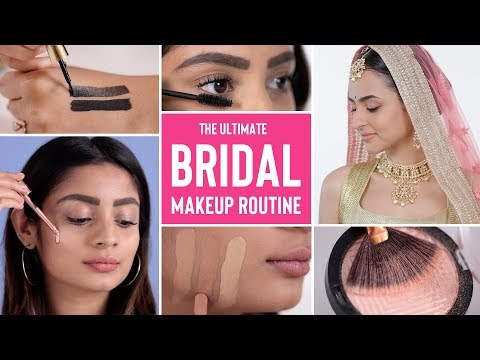 The Best Makeup Tips For Your Wedding Day! Bridal Makeup Routine