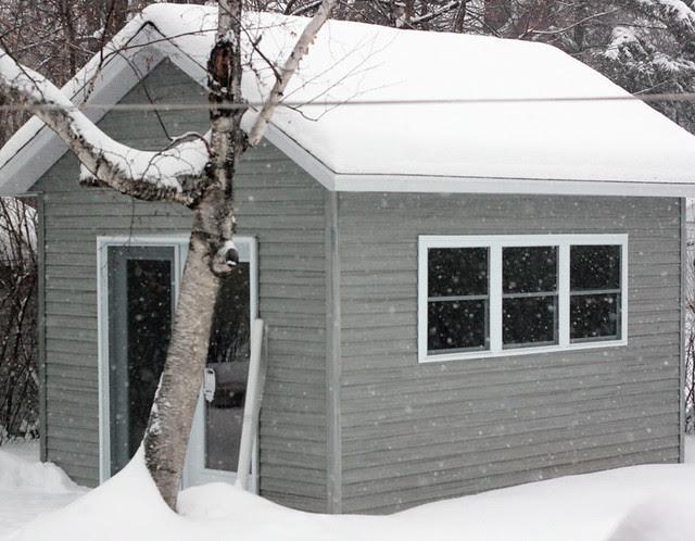 TFA Studio - our little backyard workshop