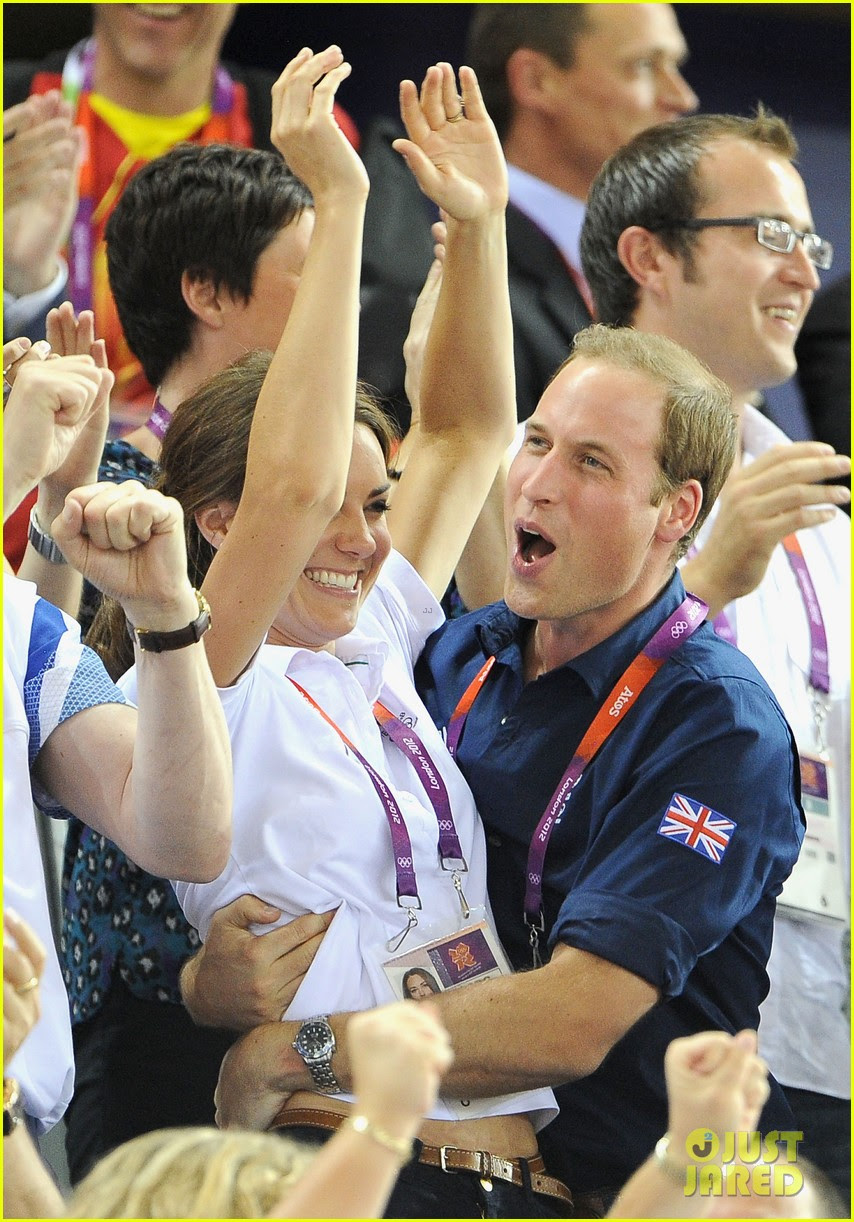 duchess kate prince william celebrate great britains cycling win at the olympics 24