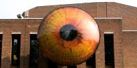 A Dutch Town Installs 5 Giant Eyeballs on Buildings, Because Art