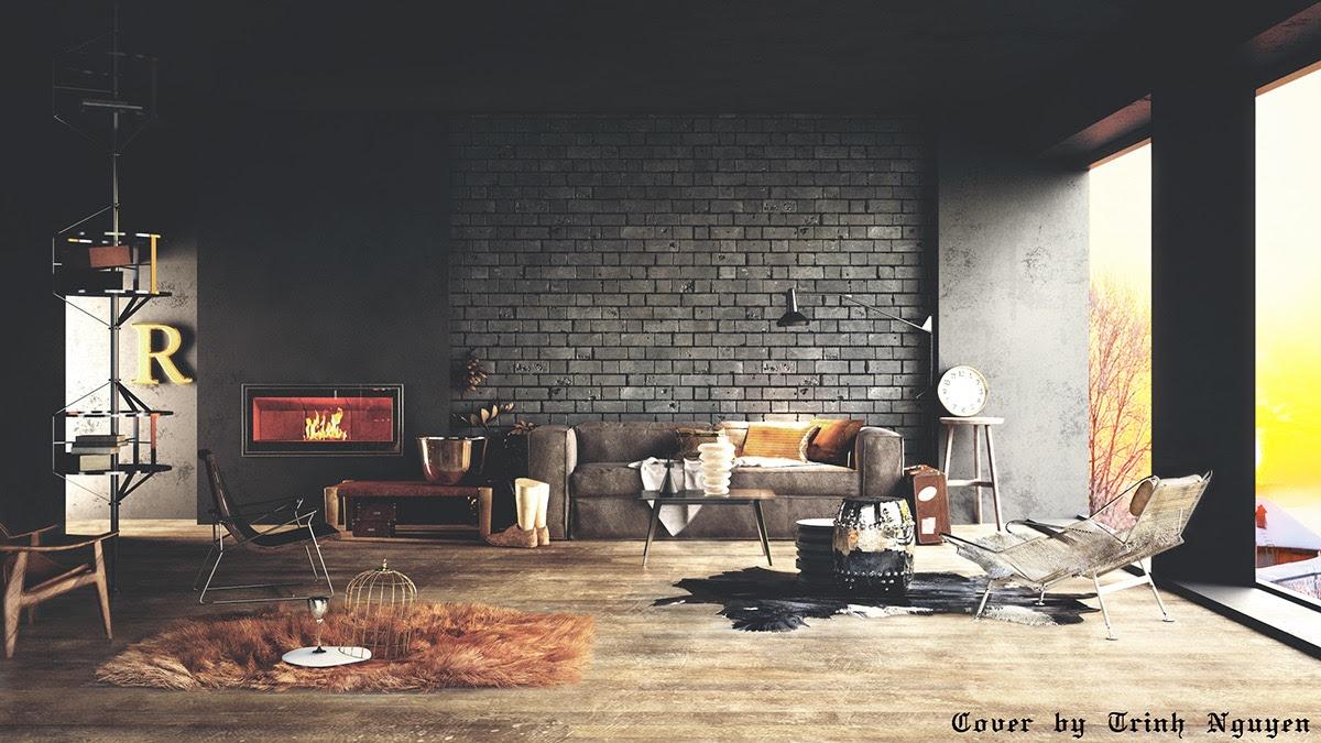 Brick Wallpaper Ideas For Living Room Homebase Wallpaper