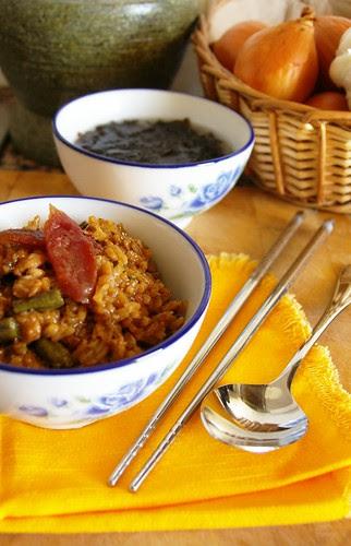 Snake Bean Rice