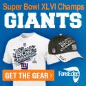 Get Your Giants Super Bowl Champs Gear at FansEdge
