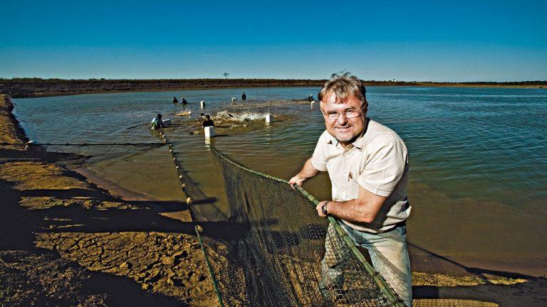 Aposta: Eraí Scheffer  da Bom Futuro, investe desde 2005 na piscicultura com o pintado e o tambaqui
