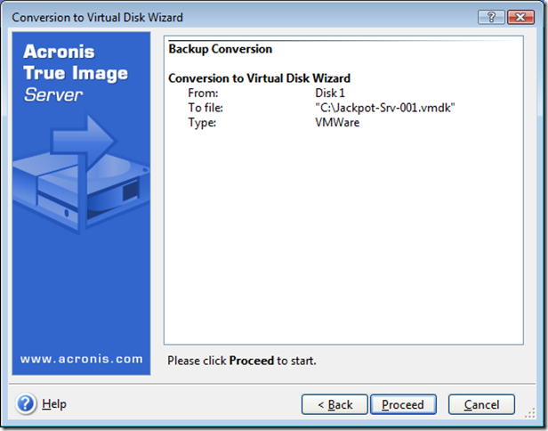 Virtual Disk Conversion From Tib Archive Networknetnl