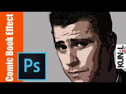 Here Is The Process And Time Breakdown Of Comic Book Drawing Effect In Photoshop 1 Open Image