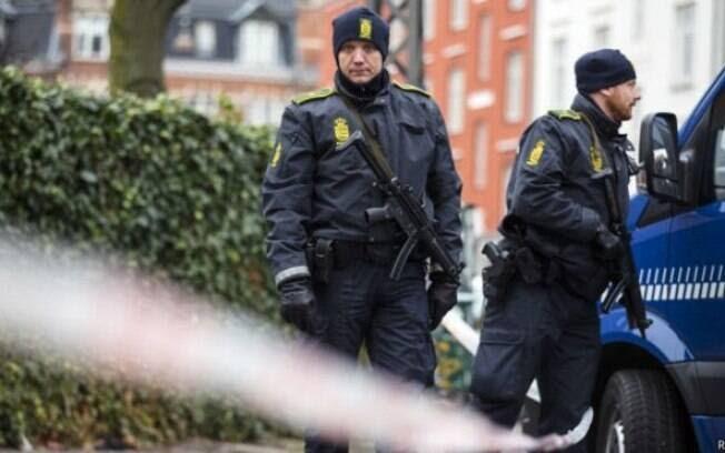 policía Dinamarca