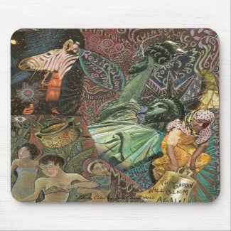 'Liberties Cries' mousepad mousepad