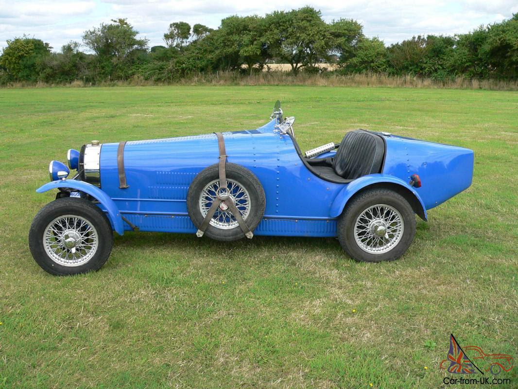 Bugatti Type 35 kit car VNJ 549H