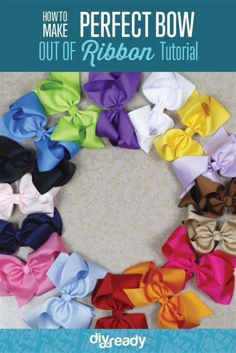 17 Best ideas about Make A Bow on Pinterest   How to make