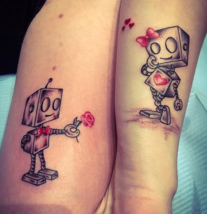 Inked Together 80 Charming Matching Tattoos For Couples Siblings