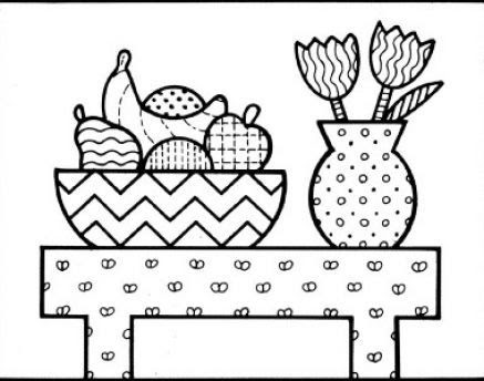 Flower Flower Vase Drawing Easy Step By Step