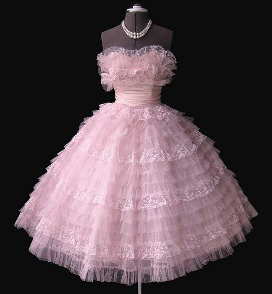 Electronic Toys: 1950's prom dress...mine was a salmon color Salmon Prom Dresses 2013